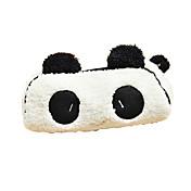 nydelig svart og hvit panda stoff multifunksjonell lommebok (1 stk)