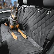 Perro Cobertor de Asiento Para Coche Mascotas Portadores Impermeable Portátil Negro
