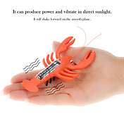 juguetes lindo langosta alimentado por energía solar de magia para niños langosta solar