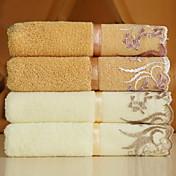 Frisk stil Vaskehåndklæ, Broderi Overlegen kvalitet 100% bomull Strikket Jacquard Vaskehåndklæ