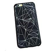 Funda Para Apple iPhone 6 iPhone 6 Plus Other Funda Trasera Diseño Geométrico Suave Silicona para iPhone 6s Plus iPhone 6s iPhone 6 Plus