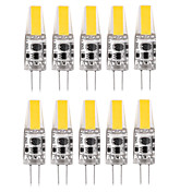 1.5W G4 Luces LED de Doble Pin T 1 LED COB Impermeable Decorativa Blanco Cálido Blanco Fresco Blanco Natural 150-200lm 3000-6000K DC 12