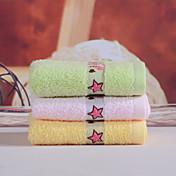 Calidad superior Toalla de Cara, Bordado 100% algodón Baño