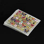 24 pcs Clásico Joyería de uñas Nail Art Design Encantador Diario / El plastico