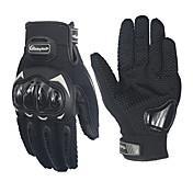 tribu montar profesionales antideslizantes guantes de carreras de motocicletas completa dedo MCS-17