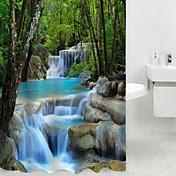 Moderno Poliéster 180 x 200cm (L x W) - Alta calidad Cortina de baño