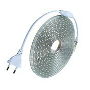 600 LED Varm hvit Hvit Grønn Gul Blå Rød Kuttbar Vanntett AC220 AC 220V