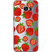Funda Para Samsung Galaxy Samsung Galaxy S7 Edge Diseños Funda Trasera Fruta Suave TPU para S7 edge S7 S6 edge plus S6 edge S6