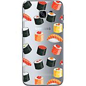 Etui Til Samsung Galaxy Samsung Galaxy S7 Edge Mønster Bakdeksel Hjerte Myk TPU til S7 edge S7 S6 edge plus S6 edge S6