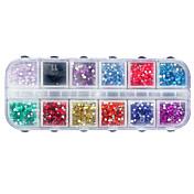 1 pcs Joyas de Uñas arte de uñas Manicura pedicura Diario Glitters / Moda / Joyería de uñas