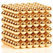 Juguetes Magnéticos 216 Piezas 3MM Magnetic Balls,Golden&Silver 2 Color Choose,Diameter 3 MM Alivia el Estrés Kit de Bricolaje Juguetes