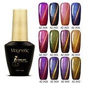 Gel UV para esmalte de uñas 12 1 Empapa de Larga Duración