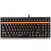 Rapoo gaming tastatur mekanisk tastatur V500 grønn akse fulle taster programmerbar pro