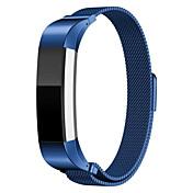 Klokkerem til Fitbit Alta Fitbit Milanesisk rem Rustfritt stål Håndleddsrem