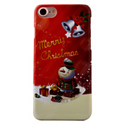 Para Diseños Funda Cubierta Trasera Funda Navidad Dura Policarbonato AppleiPhone 7 Plus / iPhone 7 / iPhone 6s Plus/6 Plus / iPhone 6s/6