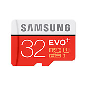 SAMSUNG 32GB Micro SD-kort TF kort minnekort UHS-I U1 Class10 EVO Plus EVO+