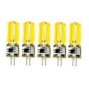 5Pcs Con Cable Others G4 2809 Cob AC220 v 1500 lm Warm White Natural White Double Needle Waterproof Glue Lamp Other