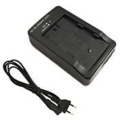 cargador de batería el3e y el cable del cargador de la UE para Nikon EN-EL3e d70s d90 d80 d70 d50 d300