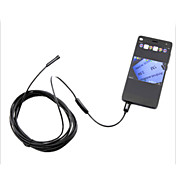 android endoskop usb 5.5mm android endoskop 6 ledet IP66 vanntett kamera usb endoskopet 1m android OTG CCTV kamera
