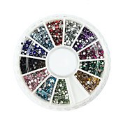 2000 pcs Adornos Nail Art Design Elegante / Ordinario / Abstracto