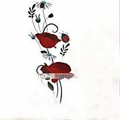Still Life Romantik Mote Blomster Botanisk Tegneserie Veggklistremerker Fly vægklistermærker Dekorative Mur Klistermærker Hjem Dekor