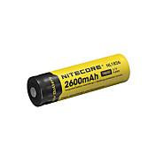 NiteCore nl1826 2600mah 3.7v 9.6wh batería recargable Li-ion 18650