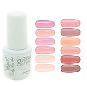 Neglelakk UV-Gel 0.005 1 UV Color Gel Klassisk Dypp av langvarig Daglig UV Color Gel Klassisk Høy kvalitet