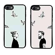 Para Diseños Funda Cubierta Trasera Funda Dibujos Suave TPU para Apple iPhone 7 Plus iPhone 7 iPhone 6s Plus/6 Plus iPhone 6s/6