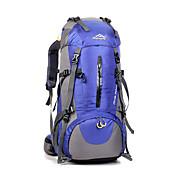 45 L Paquetes de Mochilas de Camping Mochilas de Senderismo Bolsa de Viaje mochila Acampada y Senderismo ViajeImpermeable Resistente a la