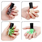 4 colores verde del color del caramelo Nail Polish (16 ml, colores surtidos)
