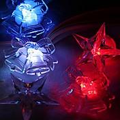 1 pieza Luz de noche LED Tamaño Compacto El plastico 5.0*5.0*2.0cm