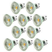 10pcs 5W 550-650 lm GU10 Focos LED 1 leds COB Regulable Blanco Cálido Blanco Fresco 220 V