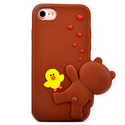 Funda Para Apple iPhone 7 Plus iPhone 7 Diseños Funda Trasera Dibujo 3D Suave Silicona para iPhone 7 Plus iPhone 7 iPhone 6s Plus iPhone