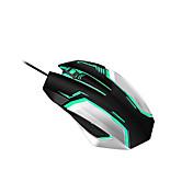 310 Med ledning Gaming Mouse DPI Justerbar bakgrunnsbelyst 800/1600/2400/3200