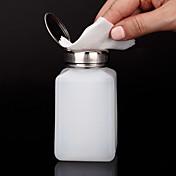 1pcs Fransk Tips Guide Nail Stamping Template Daglig Mote Høy kvalitet