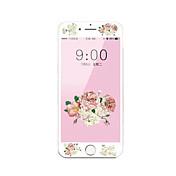 para el iphone de la manzana 7 4.7 templado de protector de pantalla de cristal con borde suave pantalla completa frente a la cobertura de