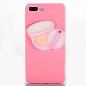Para Espejo Manualidades Funda Cubierta Trasera Funda Chica Sexy Suave TPU para AppleiPhone 7 Plus iPhone 7 iPhone 6s Plus iPhone 6 Plus