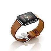 시계 밴드 용 Apple Watch Series 3 / 2 / 1 Apple 손목 스트랩 나비 버클