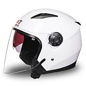 Halvhjelm Anti-dugg Pustende Motorsykkel Hjelmer