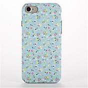 Para Diseños Funda Cubierta Trasera Funda Flor Dura Policarbonato para AppleiPhone 7 Plus iPhone 7 iPhone 6s Plus iPhone 6 Plus iPhone 6s