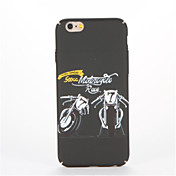 Para En Relieve Diseños Funda Cubierta Trasera Funda Palabra / Frase Dura Policarbonato para AppleiPhone 7 Plus iPhone 7 iPhone 6s Plus
