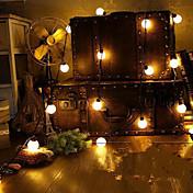 4m de la novedad 20 del globo LED lámparas de cuerda festón conectable bola del partido de boda de cuento guirnalda colgante de jardín