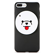 Funda Para Apple iPhone 7 Plus iPhone 7 IMD Espejo Manualidades Funda Trasera Dibujo 3D Suave TPU para iPhone 7 Plus iPhone 7 iPhone 6s