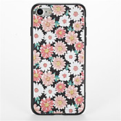 Funda Para Apple iPhone 7 Plus iPhone 7 Diseños Funda Trasera Flor Suave TPU para iPhone 7 Plus iPhone 7 iPhone 6s Plus iPhone 6s iPhone