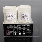 mi.xim 2 stk med sykkelsykkeldekk punkteringssikker diagonaldekket beskyttelse liner 29 tommer