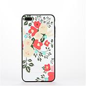 용 스탠드 패턴 케이스 뒷면 커버 케이스 꽃장식 하드 PC 용 Apple 아이폰 7 플러스 아이폰 (7) iPhone 6s Plus iPhone 6 Plus iPhone 6s 아이폰 6
