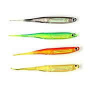 6 stk Myk Agn Sluk Myk Lokkemat Myk Plastikk Søfisking Spinne Vippefiskeri Ferskvannsfiskere Generelt fisking Lokke Fiske Bass Fiske