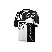 Zorro ropa de la motocicleta de manga corta protección solar transpirable humedad transpiración de secado rápido ropa camiseta verano