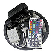 ZDM® 5 m Tiras LED Flexibles / Sets de Luces / Tiras de Luces RGB 300 LED 3528 SMD Adaptador de corriente 1 x 2A RGB Cortable / Impermeable / Conectable 12 V 1 juego / IP65 / Auto-Adhesivas