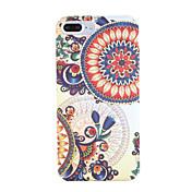 Funda Para Apple iPhone 7 Plus iPhone 7 Diseños Funda Trasera Mandala Dura ordenador personal para iPhone 7 Plus iPhone 7 iPhone 6s Plus